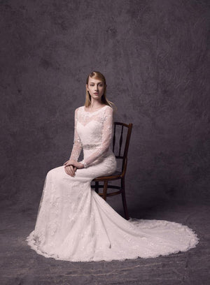 Lusan Mandongus 2587B Sample €600 - Elliott Chambers    - Bridal -  Debs Dresses -  Communion dresses