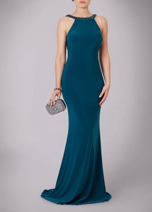 MC089 €275 Teal - Elliott Chambers    - Bridal -  Debs Dresses -  Communion dresses