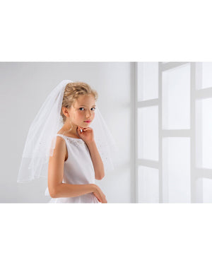 PV3 Veil Pencil Edge - Elliott Chambers    - Bridal -  Debs Dresses -  Communion dresses