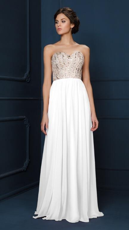 GC3571 K debs dress €295 - Elliott Chambers    - Bridal -  Debs Dresses -  Communion dresses
