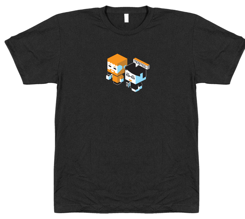Blockhead Tee - Will & Norm