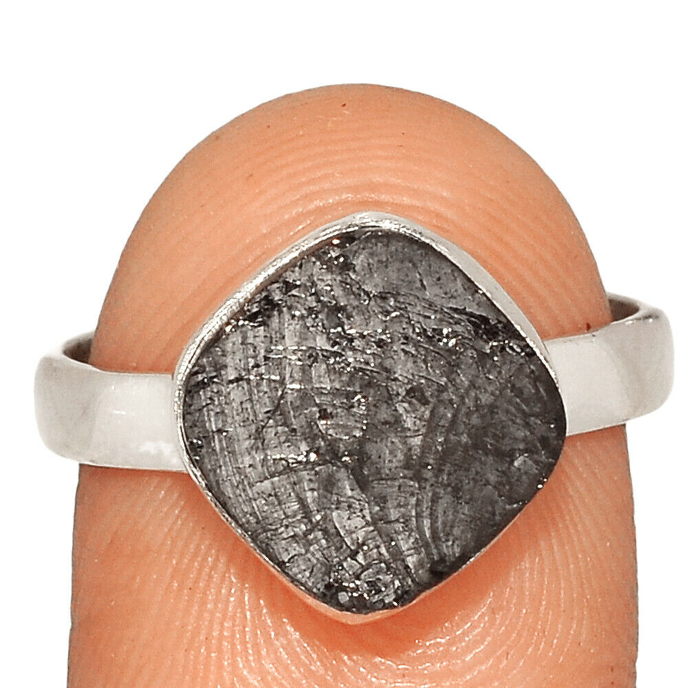 Shungite Silver Ring