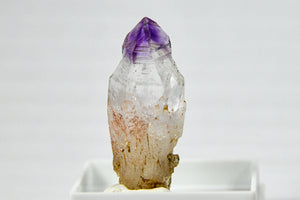 Natural Amethyst Brandberg Crystal Inverted Sceptre
