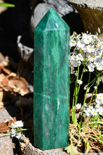Load image into Gallery viewer, Polished Swazi Jade Standing Display Crystal