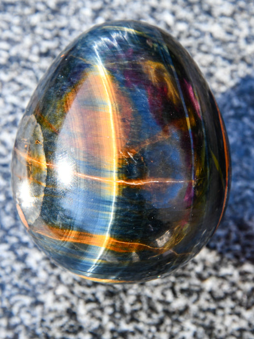 Polished Blue and Gold Tigers Eye