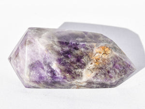 Polished Zambian Double Terminated Amethyst Crystal