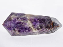 Load image into Gallery viewer, Polished Double Terminated Amethyst Quartz Crystal