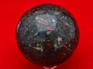 Polished Bloodstone Ball