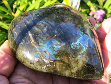 Beautiful Labradorite Gemstone Heart