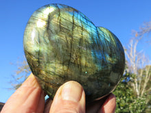 Load image into Gallery viewer, Beautiful Labradorite Gemstone Heart