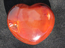 Load image into Gallery viewer, Polished Scarlet Carnelian Heart