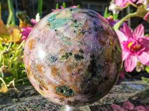 Polished Rare Matrix Salrose Ball.