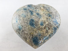Load image into Gallery viewer, Polished Blue Spinel Gemstone Quartz Heart
