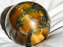 Load image into Gallery viewer, Polished Tigers Eye Ball
