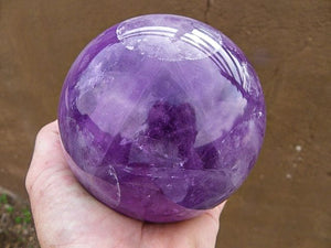 Polished Amethyst Ball