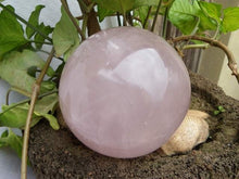 Load image into Gallery viewer, Rose Quartz Polished Sphere