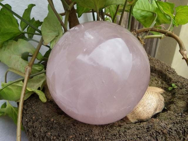 Rose Quartz Polished Sphere