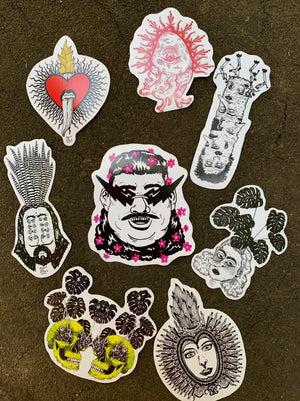 ALBERT VON KITSCH STICKERS