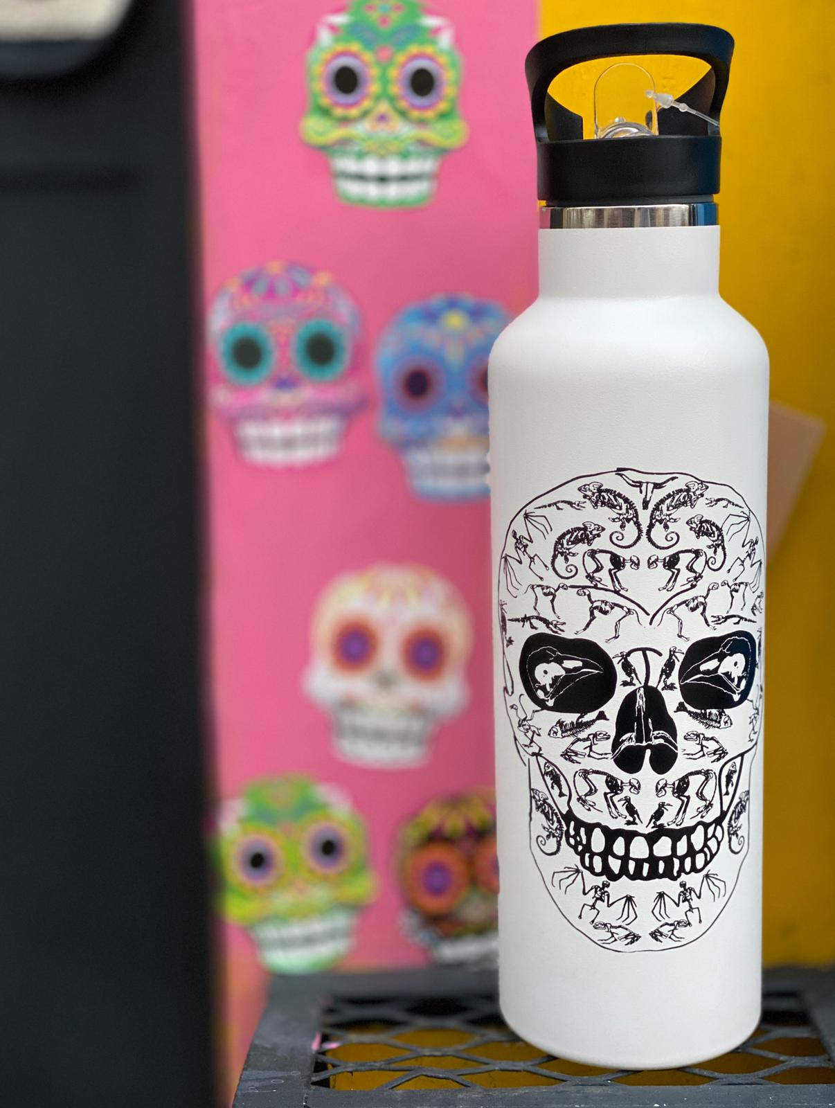 CALAVERA - KAAB BOTELLA DE ACERO INOXIDABLE DOBLE PARED 750 ML