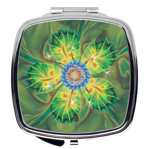 Dancing Star Flower (Compact Mirror)