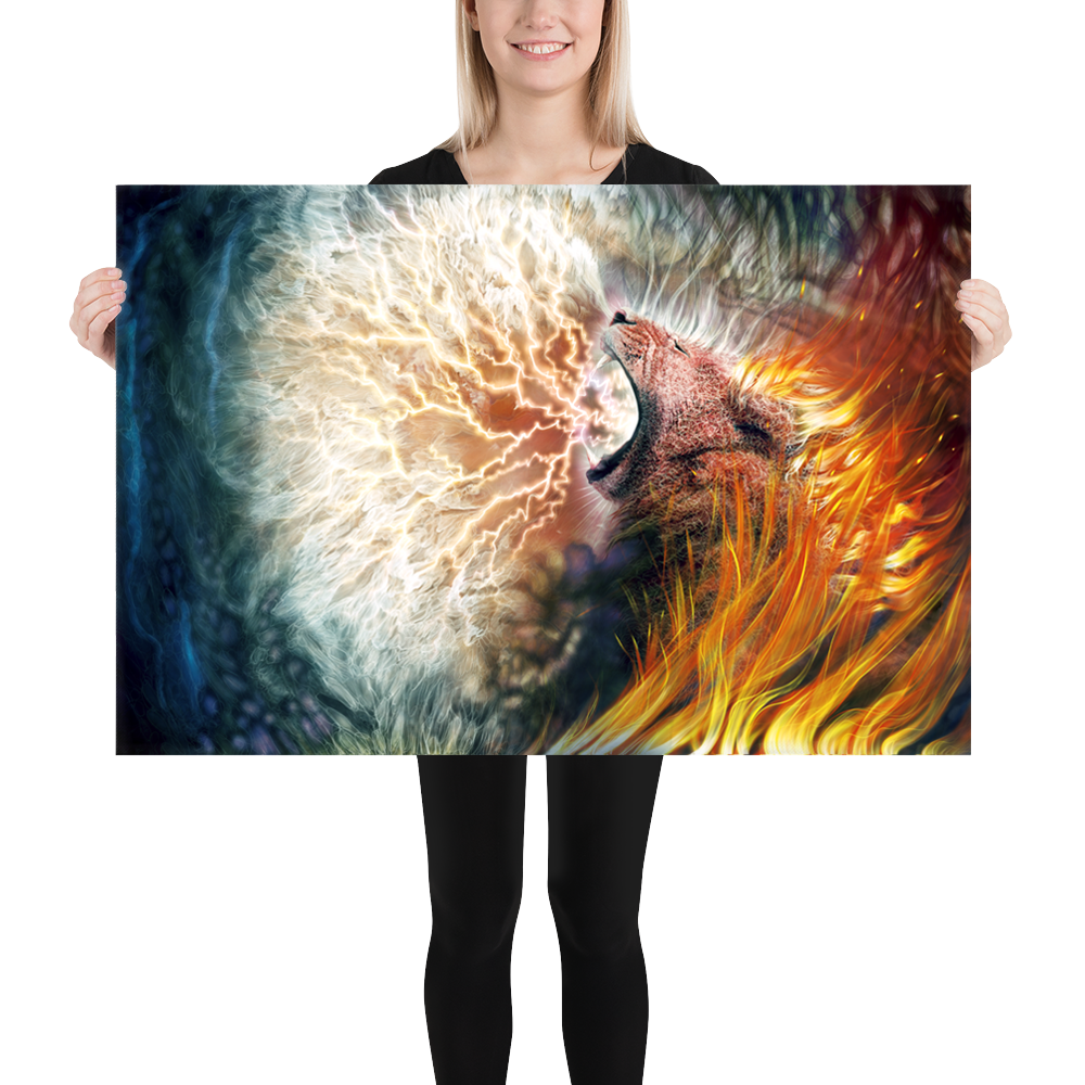 Hear Me Roar (Canvas Art)