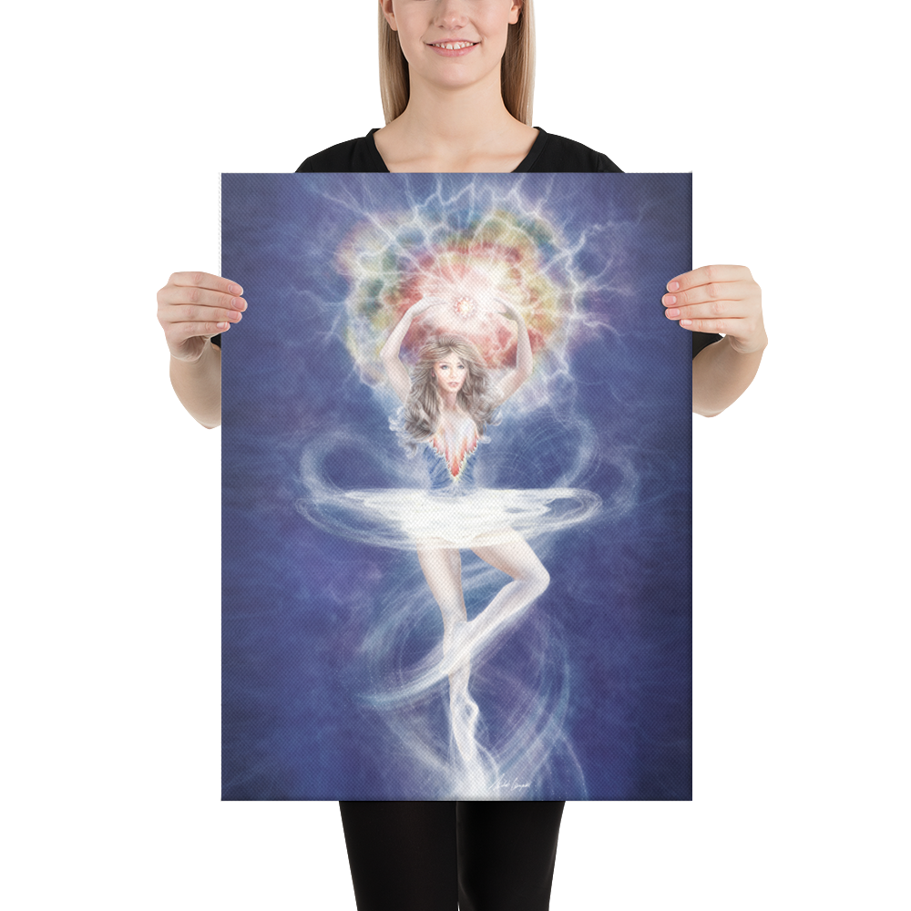 Star Dust Dancer (Canvas Art)