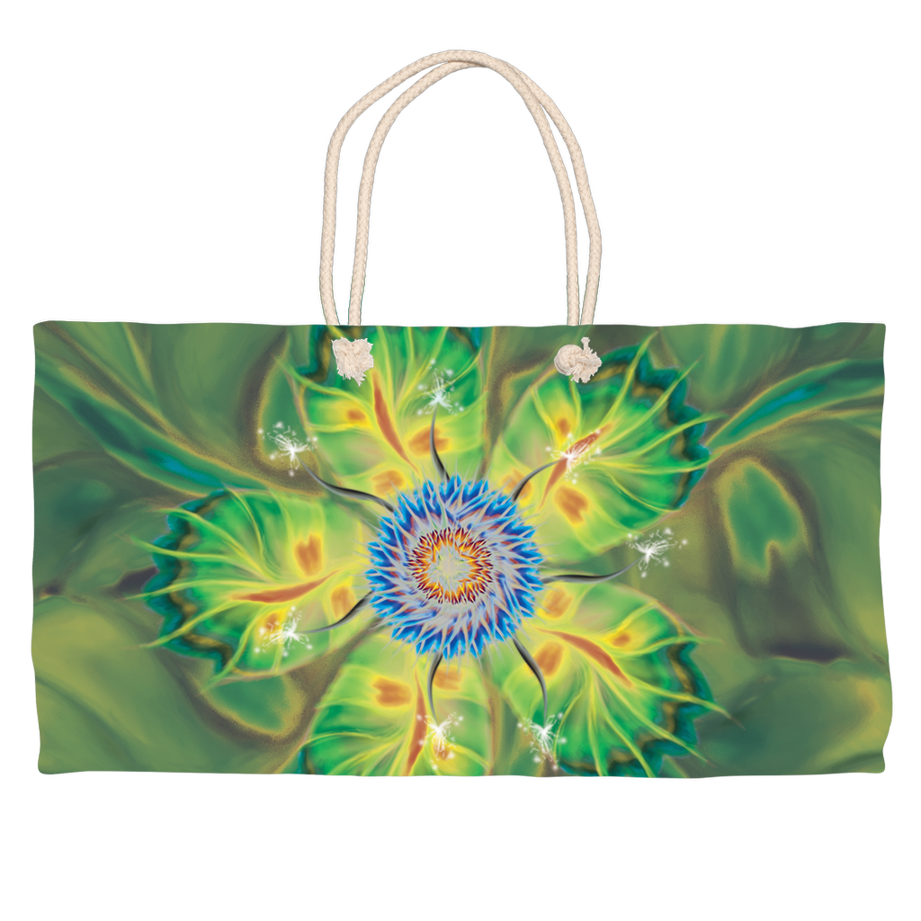 Dancing Star Flower (Weekend Tote)