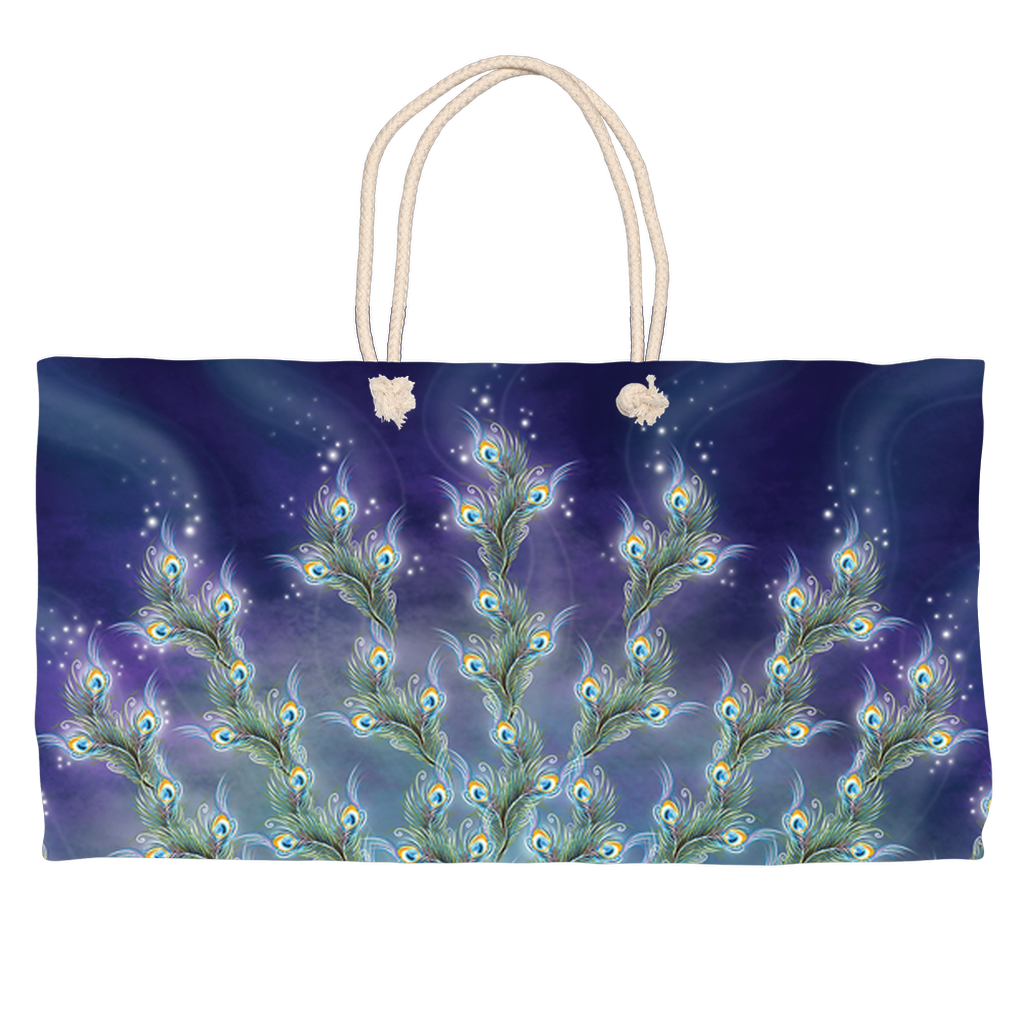 Phantom Peacock (Weekend Tote)