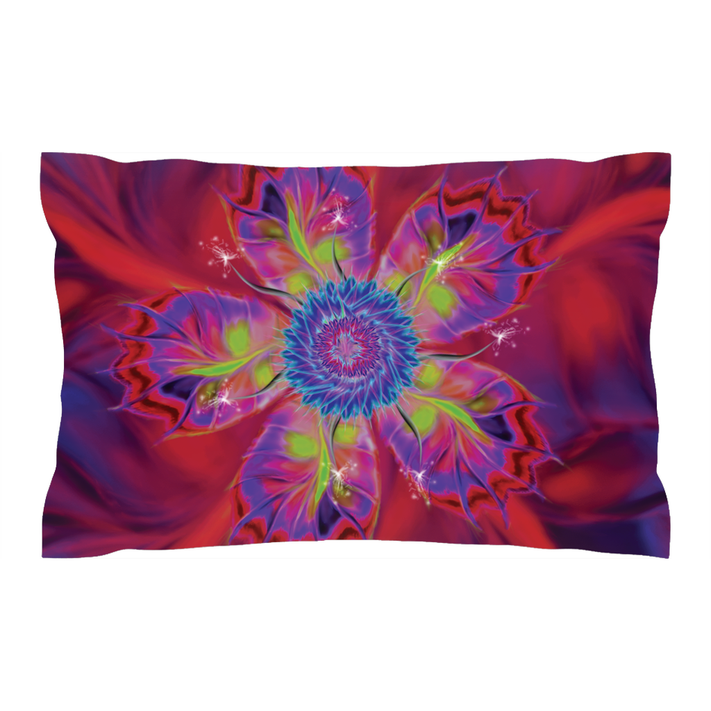 Dancing Star Flower (Pillow Shams)