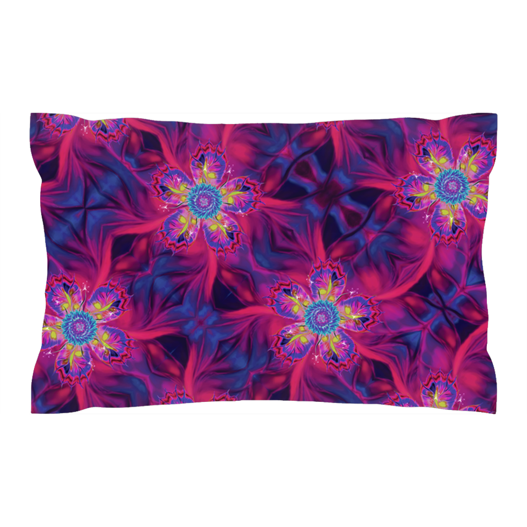 Dancing Star Flowers (Pillow Sham)