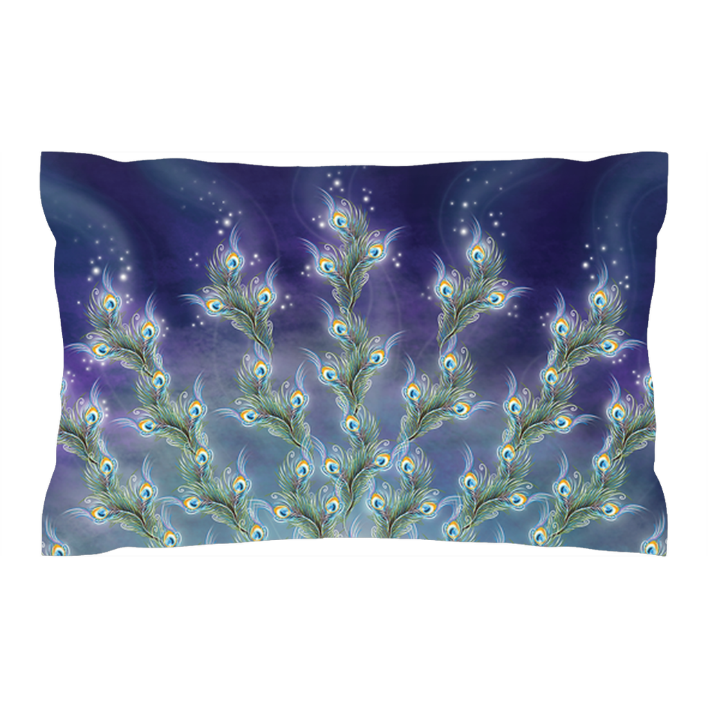 Phantom Peacock (Pillow Sham)