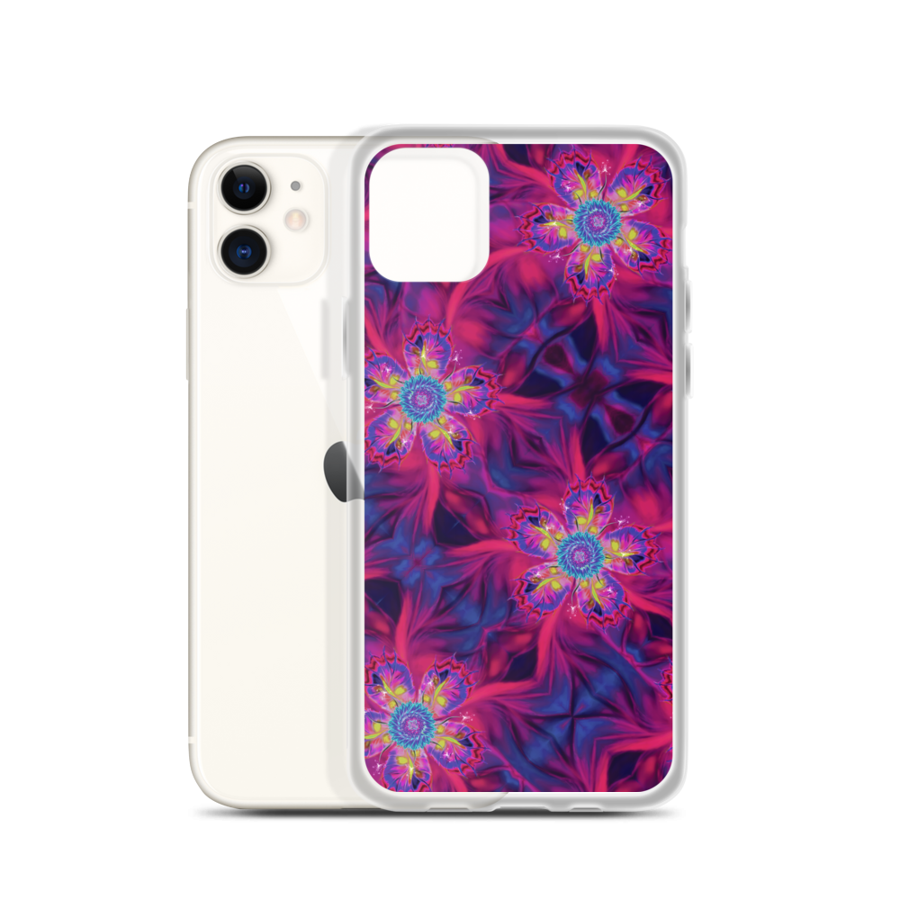 Dancing Star flowers (iPhone Case)