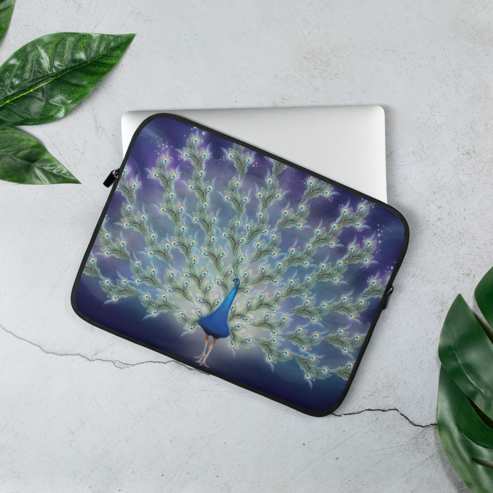 Phantom Peacock (Laptop Sleeve)