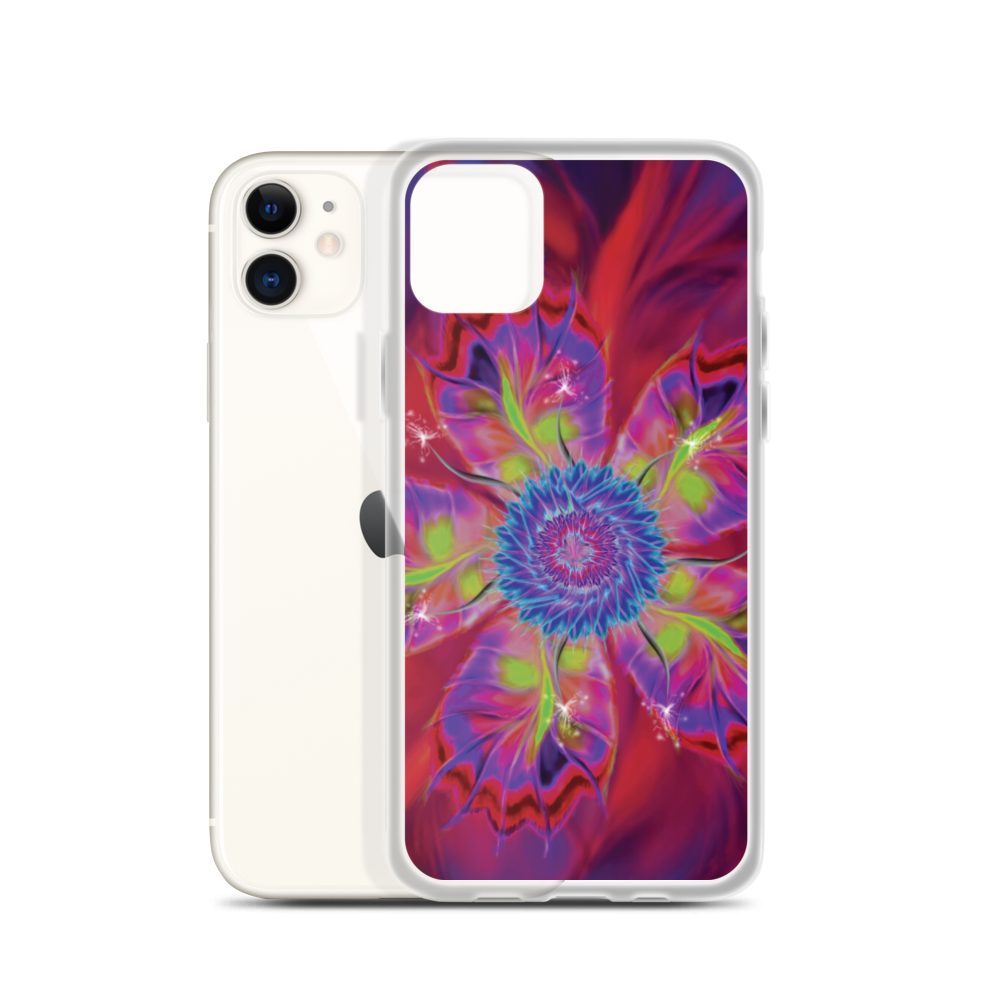 Dancing Star flower (iPhone Case)