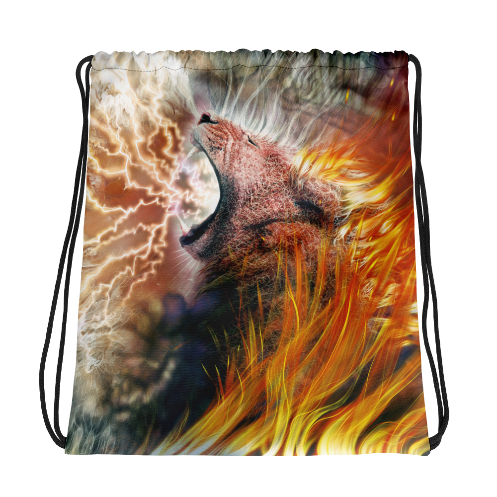 Hear Me Roar (Drawstring bag)