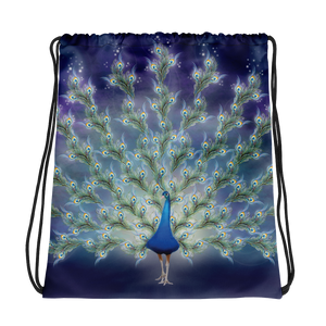 Phantom Peacock (Drawstring Bag)