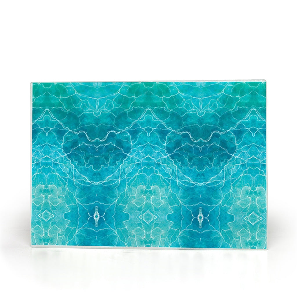 Dreamy Gaze Blue (Glass Cutting Board)
