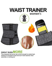 Waist Trainer Neoprene Belt Cincher Tummy Control Strap Slimming Girdle
