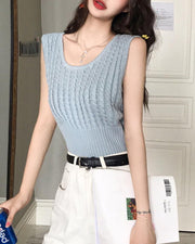 Basic Knitted Tank Top