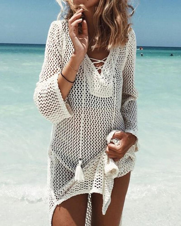 Crochet Beach Cover-Up