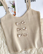 Bow Tie Detail Cami Top
