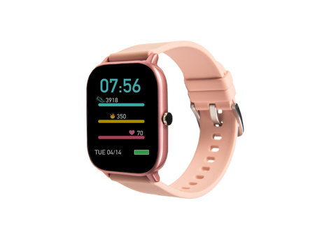 Pink ndur smartwatch new for iphone and android devices bluetooth new compatible with iphone and android devices cheap smartwatches for under $100