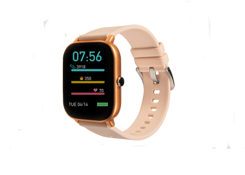 Rose gold Ndur smartwatch new for Iphone and Android devices cheap smartwatches under $100 bluetooth 40MM smartwatch for android and iphone