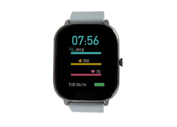 Brand new smokey grey ndur smartwatch for iphone and android devices cheap smartwatches under $80 for android and iphone best smartwatches for android