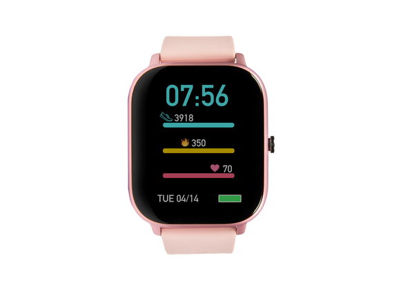 pink ndur smartwatch best smartwatches for under $100 cheap smartwatch silicon band new