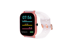 Rose Gold & White Ndur smartwatch