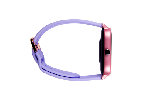 Rose gold & lavender ndur smartwatch