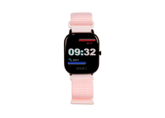Pink New ndur bluetooth smartwatch new iphone and android smartwatch compatible with iphone and android phones.