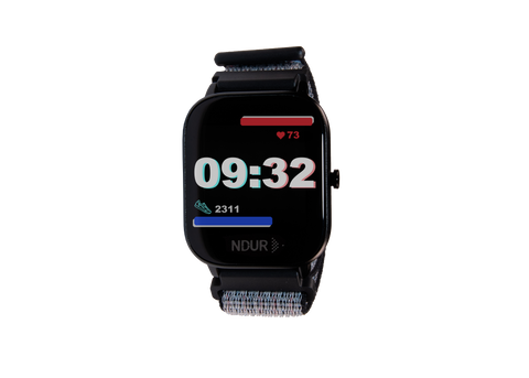 Ghost black ndur smartwatch new with nylon band. Iphone and android compatible new cheap smartwatch smartwatches under $100. Heart rate tracking smartwatch