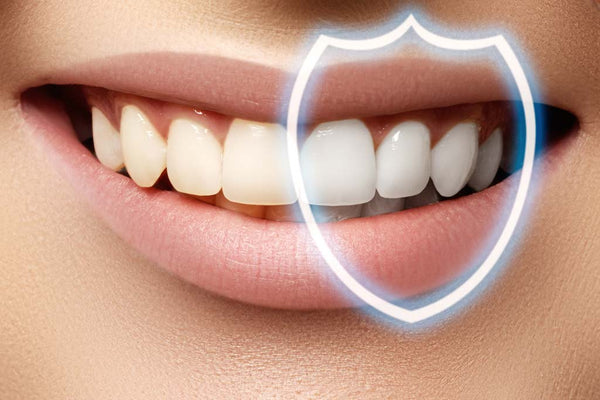 Concept Image of White teeth
